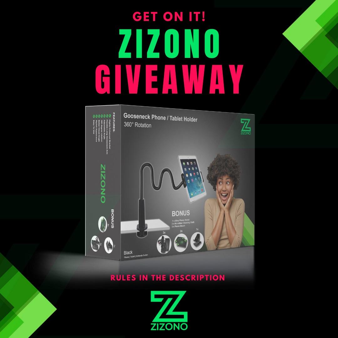 ZIZONO - Phone & Tablet Holder (Gooseneck)
